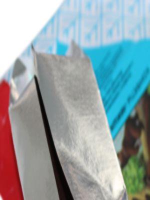 Фольга кашированная бумагой для кондитерских изделий