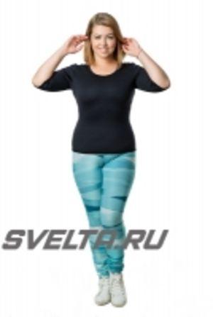 Футболка для фитнеса SVELTA с коротким рукавом SV8