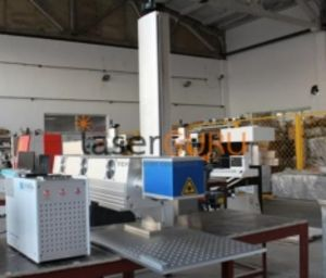 Газовый Co2 лазерный станок для маркировки неметаллических материалов SEKIRUS P0404M-GM 30Вт