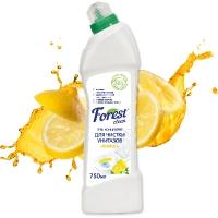 """Гель для чистки унитазов """"Лимон"""" Forest Clean, 750 мл"""