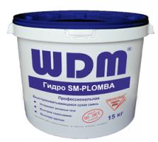 ГИДРО SM-PLOMBA Сухая смесь для ликвидации активных течей