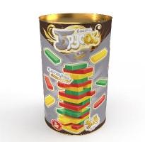 Игра для детей и взрослых «Брусок» цветная (тубус)