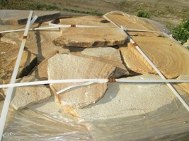 Камень природный пластушка Цветная песчаник натуральный