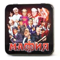 Карточная игра «Мафия» в жестяной коробке