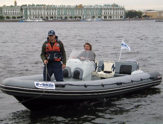 Катер Буревестник Б-630 РИБ