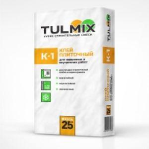 Клей плиточный К-1 TULMIX 25кг
