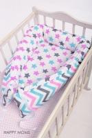 Кокон для новорожденной девочки
