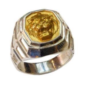 Кольцо серебряное АртБазаръ