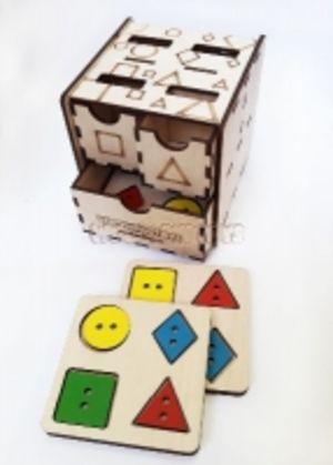 Комодик-куб