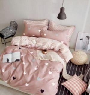 Комплект постельного белья 2,0 сп с Европростыней, сатин