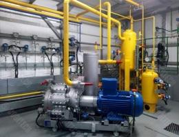 Компрессорные установки для слива и налива сжиженных газов