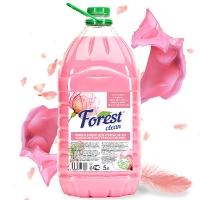 """Кондиционер для стирки белья """"Самое мягкое прикосновение"""" Forest Clean, 5л"""