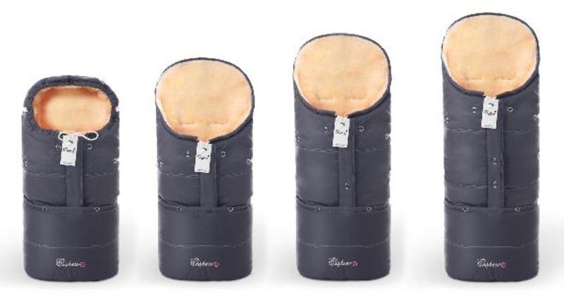 Конверт в коляску Esspero Transformer (натуральная 100% шерсть)