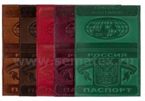 Кожаная обложка для паспорта DIVIDUUM DLP-100