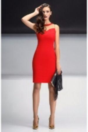 Красное платье L1562 Lavela
