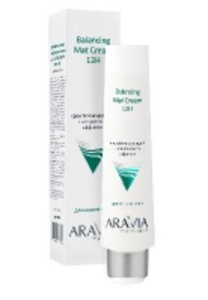 Крем для лица балансирующий с матирующим эффектом, 100 мл, ARAVIA Professional