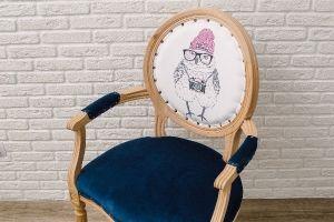 "Кресло медальон ""Совушка"""