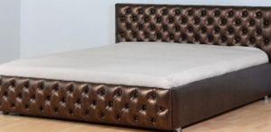 Кровати в каретной стяжке