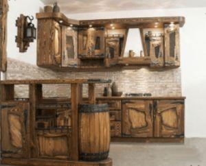 Кухонный гарнитур под старину