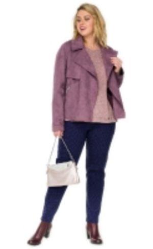 Куртка женская из эко замши