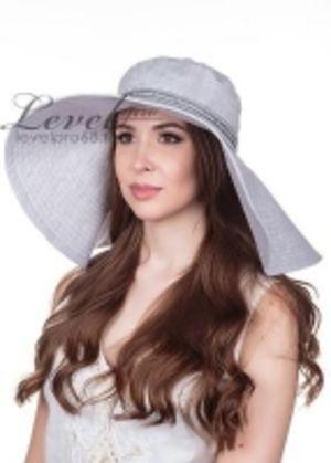 Лен рыхлый Оливия шляпа макси