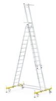 Лестница алюминиевая монтажная (Германия)