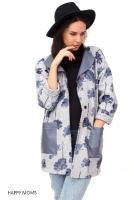 Лёгкое пальто для беременных