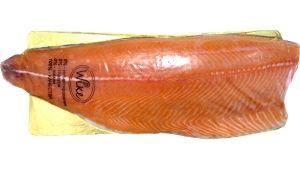Лосось (сёмга) пласт филе трим Д слабосоленый охлажденный от 1,7 до 2,1 кг.