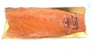 Лосось (сёмга) пласт филе трим Б замороженный от 1,7 до 2,1 кг.