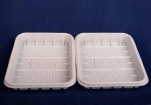 Лоток для фасовки и заморозки 0,5 кг белый одноразовый 50/44/2200 код товара 12008