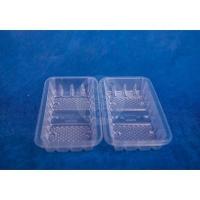 Лоток пластиковый одноразовый прозрачный 0,25кг для фасовки и заморозки 100/42/4200