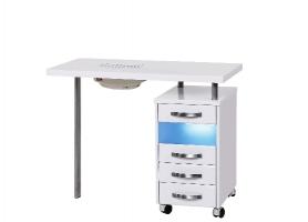 Маникюрный стол с УФО-блоком и пылесосом