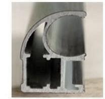 Мебельный алюминиевый анодированный профиль для шкафов-купе