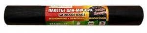 """Мешки для мусора 240 л.,MIRPACK """"STANDART"""" 5 шт., черные ,чиние"""
