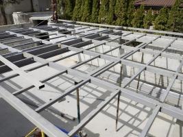 Металлические каркасы для зданий , нестандартные конструкции из металла