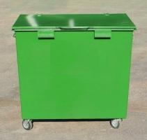 Металлический мусорный контейнер 0,8 м3