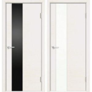 Межкомнатные двери Сиена-8 белая эмаль