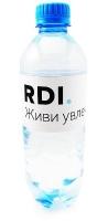 Минеральная вода с логотипом