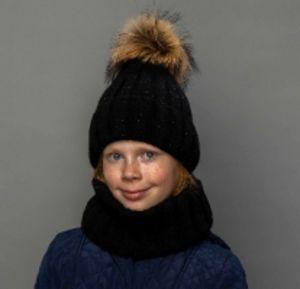 Молодежные женские шапки и  комплекты: Шапка+ снуд от ТМ Selfiework