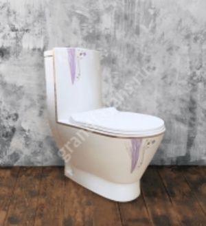 Монолит SM9004A Violet dream, тонкое сиденье ПП (с гофрой и подводкой)