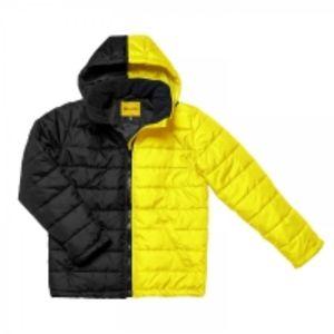 Мужская демисезонная куртка Classic Winter Black&Yellow