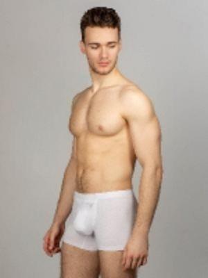 Мужские трусы боксеры с технологией INTEMP, закрытая резинка