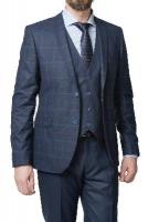 Мужской классический приталенный костюм