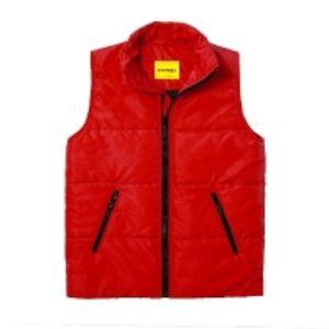 Мужской утепленный жилет Simple Vest Red