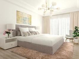 Мягкая кровать ИнРум