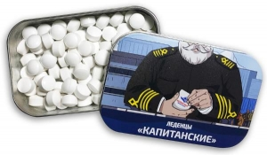 Мятные драже и сосательные конфеты с логотипом