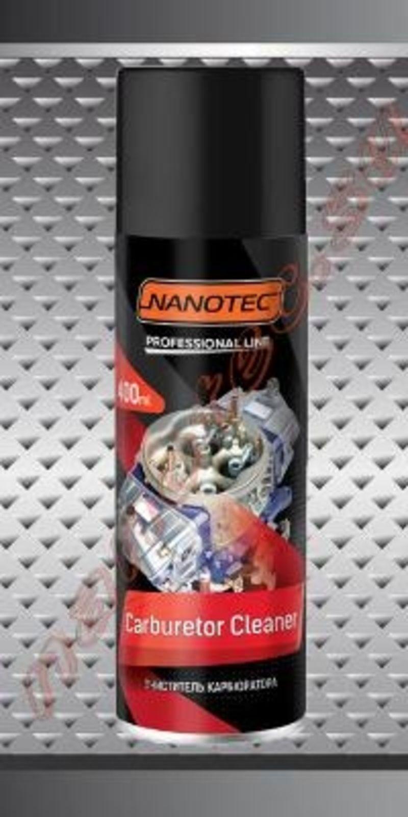 Nanotec Очиститель карбюратора 400мл