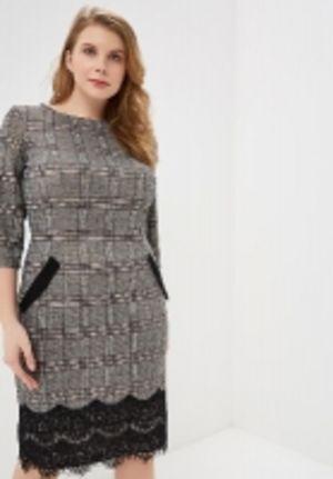 Нарядные и повседневные платья больших размеров оптом