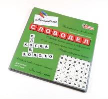 Настольная игра «Словодел Магнитный» (мини-фишки)