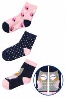 Носки для девочки 5.10.15 упаковка 3 пары 3V3309